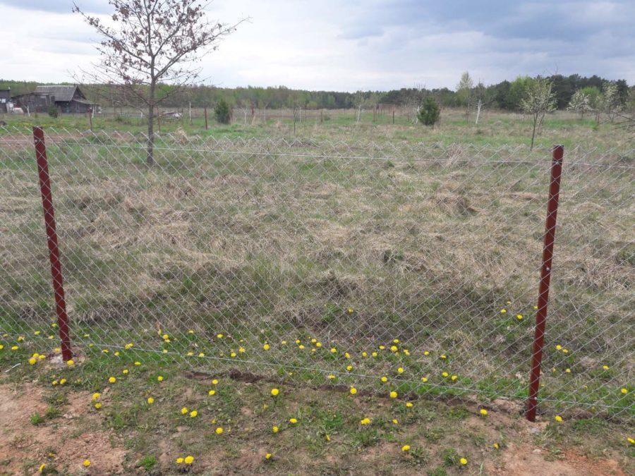 Забор из сетки рабицы 280м с воротами и калиткой
