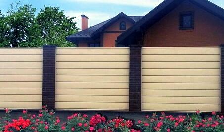 Расчет металлосайдинга на забор