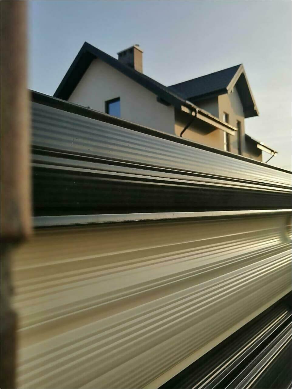 Забор из штакетника 110м фото4