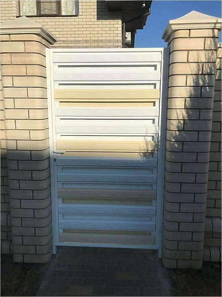 Забор из штакетника 95м фото6