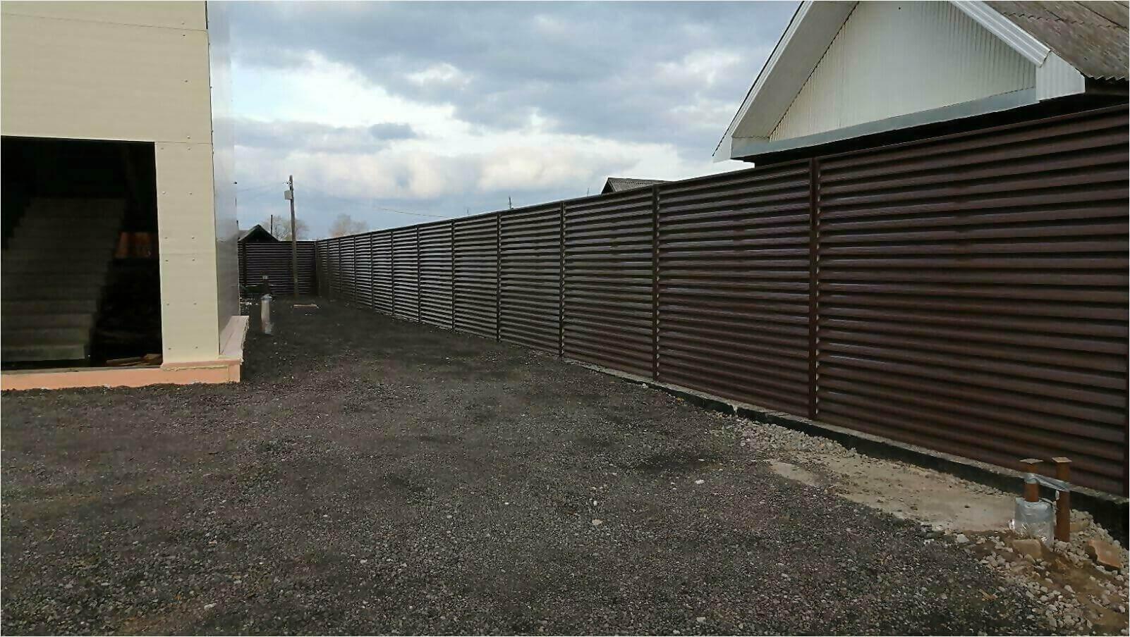 Забор-жалюзи шоколад фото4