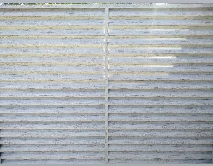 Забор-жалюзи 75м Беленый дуб фото3