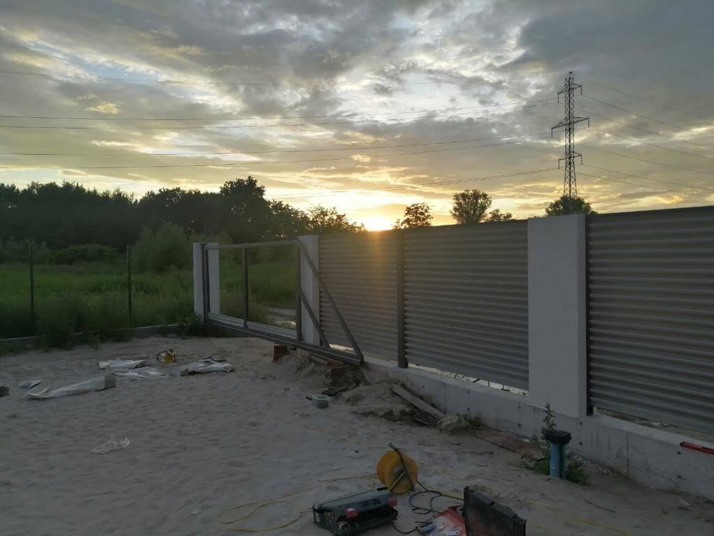 забор-жалюзи Черный Стальной Бархат фото12